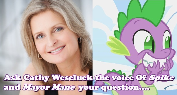 Cathy Weseluck Brony.com Interview Graphic