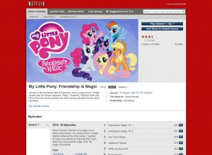 My Little Pony Netflix brony.com