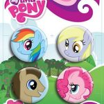 My Little Pony Friendship Is Magic Head Shot Pin Set