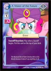 my little pony collectable card game booster packs brony.com