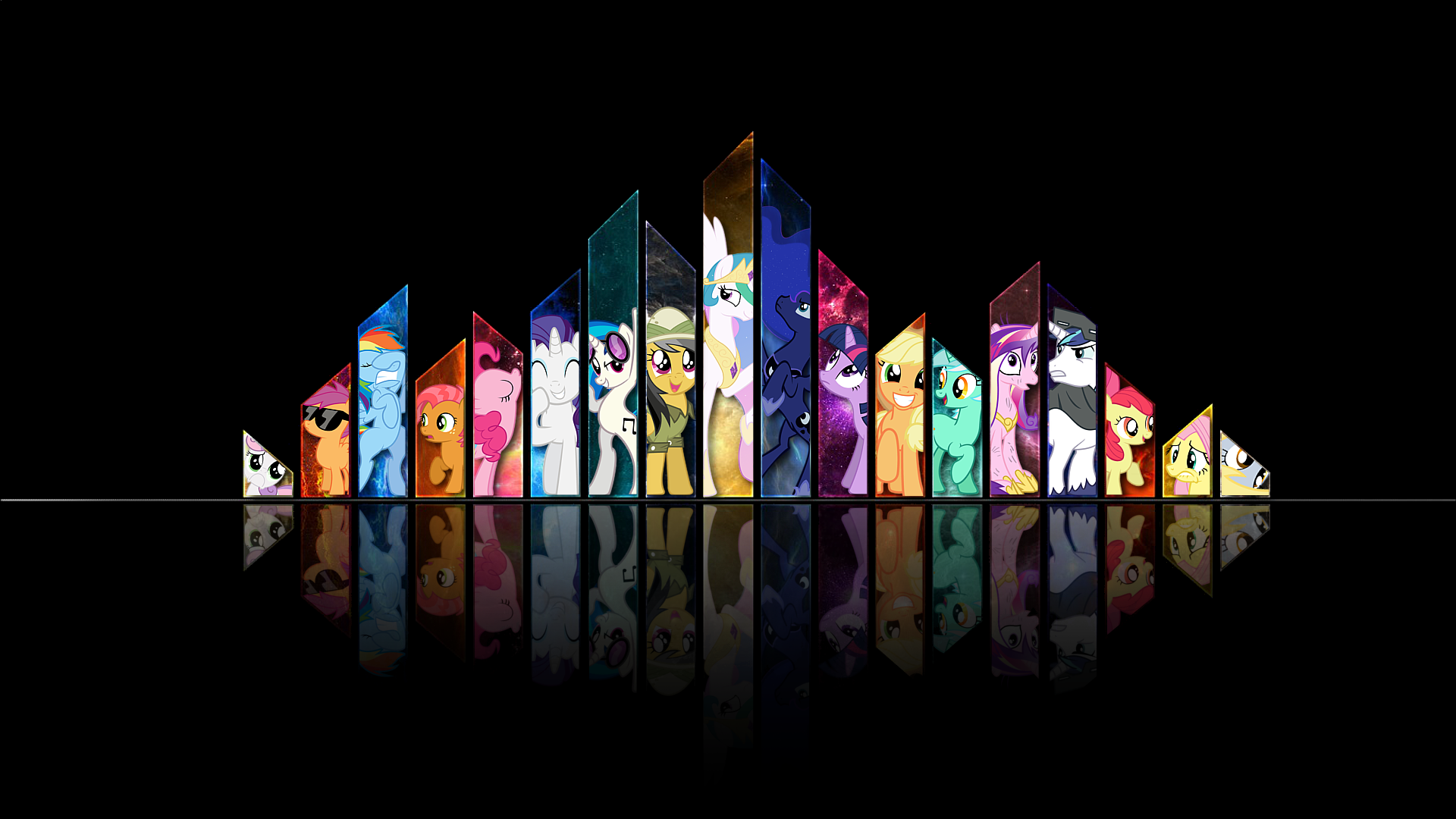 Wallpapers t shirts and apparel for bronies - My little pony cutie mark wallpaper ...