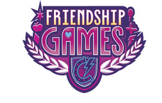 MLP Equestria Girls Friendship Games logo