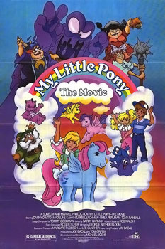 My Little Pony The Movie 30th anniversary edition DVD