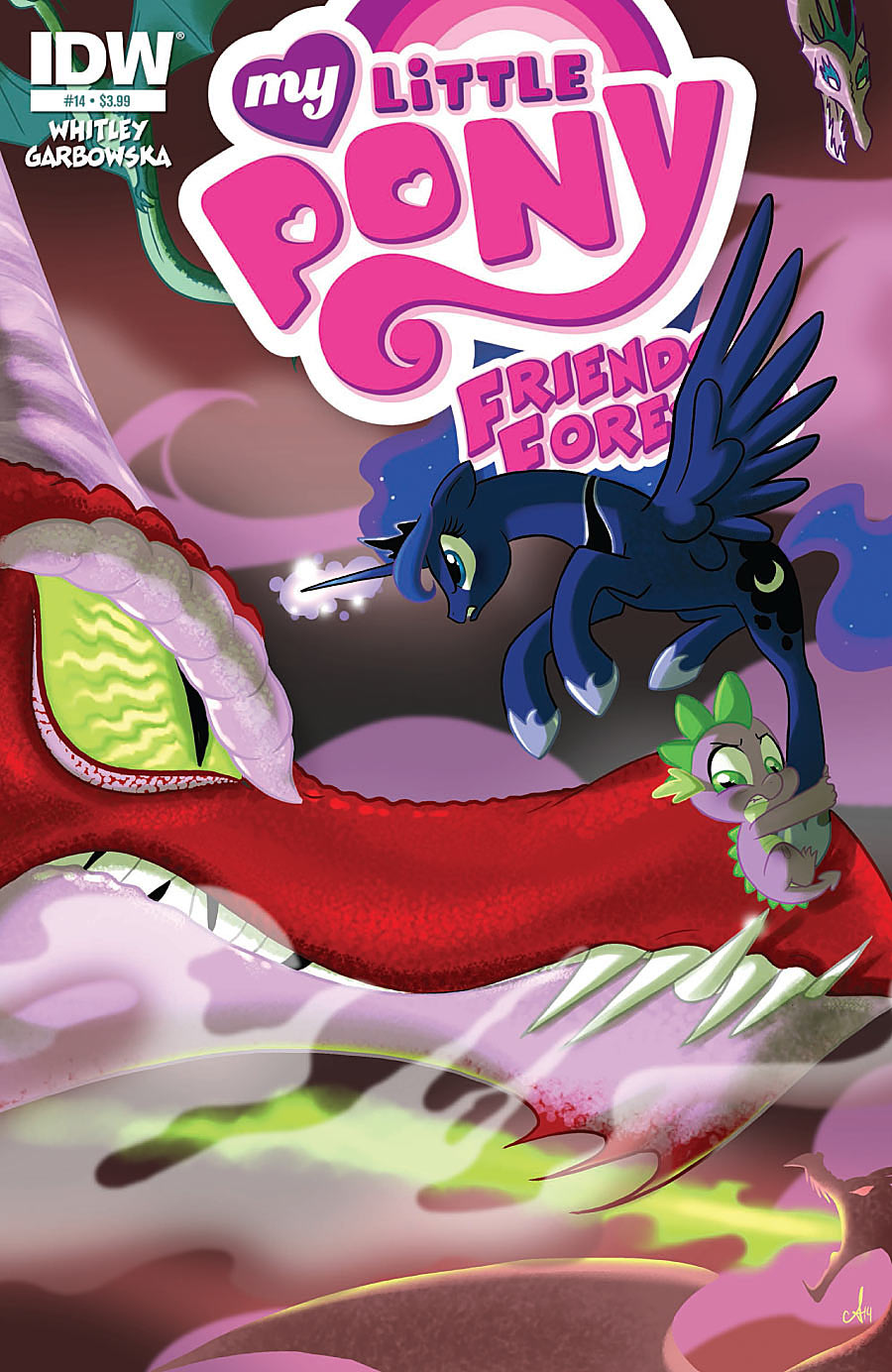 My Little Pony Friends Forever 14 cover brony.com