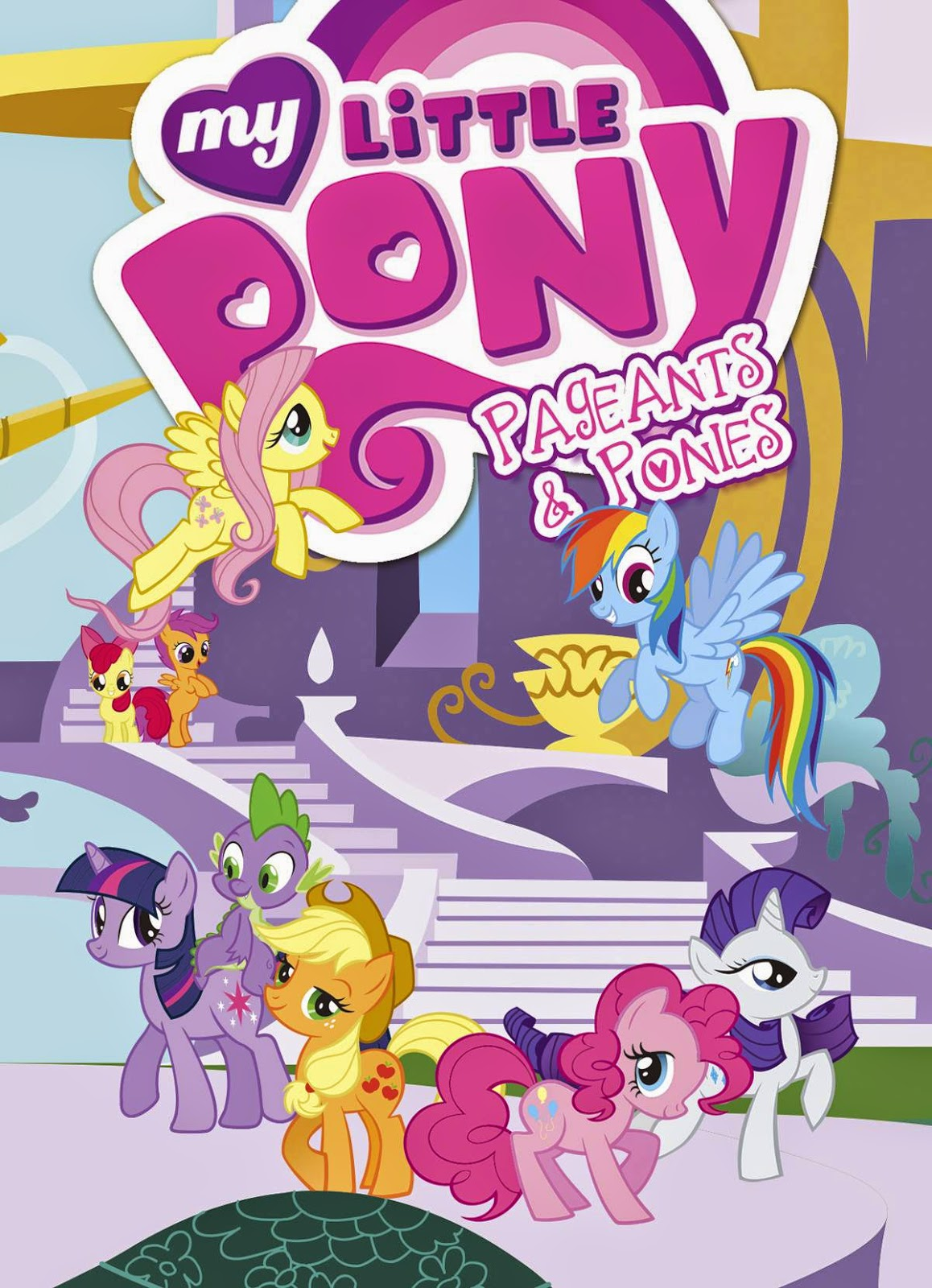 my little pony pageant and ponies tradepaperback idw brony.com