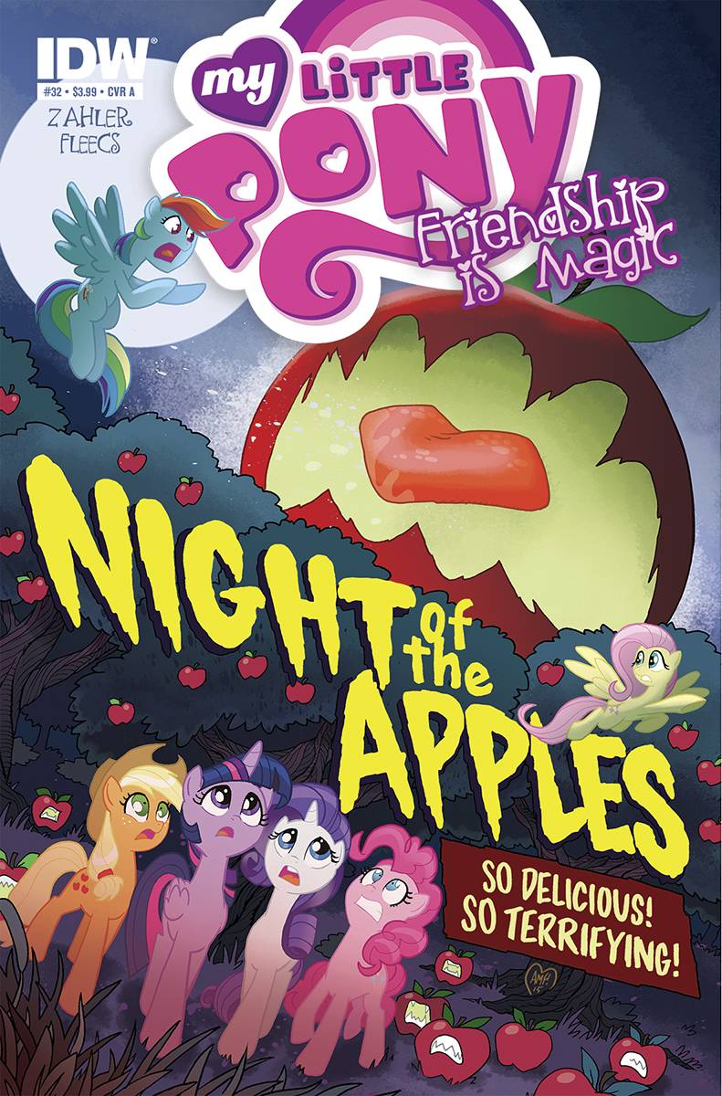 My Little Pony #32 IDW Night Of The Living Apples Part 1