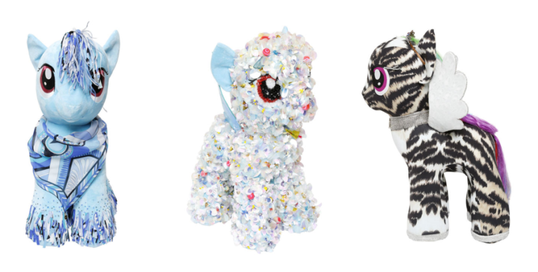 Italian Fashion Designers create my little pony figures for charity