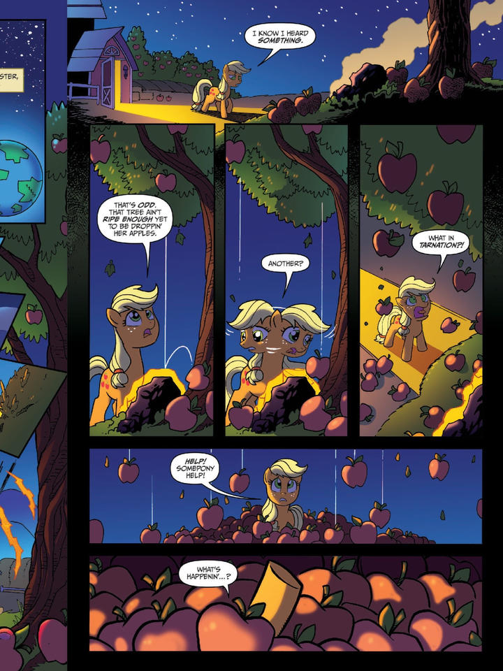 Night of the living apples page 3