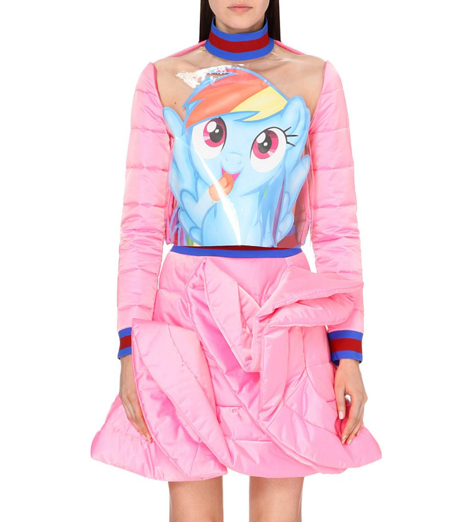 For 700 Dollars This Rainbow Dash High Fashion Dress Can Be Yours T Shirts And