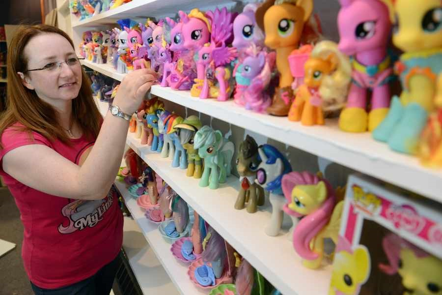 UK bronies massive collection of MLP Figures goes on display at museum