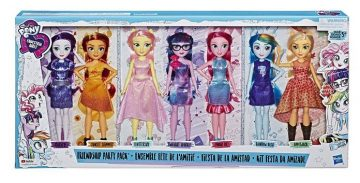 Deluxe Equestria Girls Fashion Dolls Party Pack Set Hasbro Official